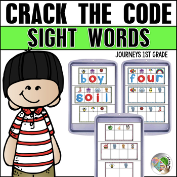 Crack the Code Sight Words - Magnetic Letter Center First