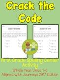 Crack the Code Spelling Center - Grade 1 - Aligned with Jo