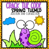 Crack the Code Spring Themed Addition and Subtraction to 20