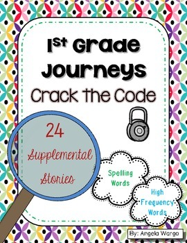 Crack the Code – Supplemental Puzzles for 1st Grade Journeys