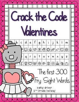 Crack the Code Valentines Edition First 300 Fry Sight Words