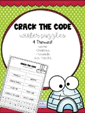 Crack the Code Word Puzzles - Winter Edition