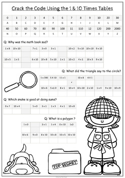 Comprehensive image throughout crack the code worksheets printable
