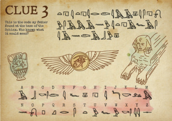 Crack the Codes 3 - The Egyptian Treasure