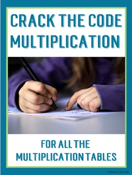 Crack the Codes for Multiplication Math Fact Practise - All Tables!