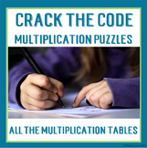 Crack the Codes for Multiplication Math Fact Practise - Al
