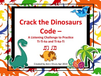 Crack the Dinosaur's Code - A Listening Challenge for Ti-T