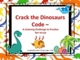 Crack the Dinosaur's Code - A Listening Challenge to Practice Syn-co-pa