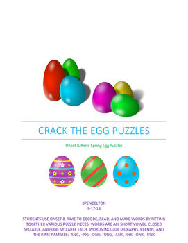 Crack the Egg Puzzles