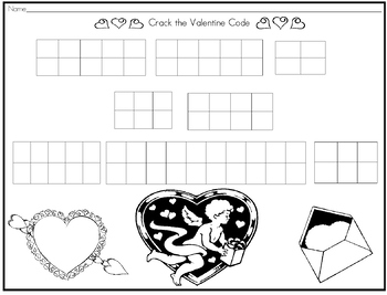 Crack the First Grade Valentine Code