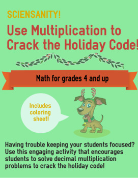 Crack the Holiday Code with Decimal Multiplication!