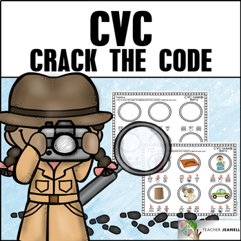 Crack the Code CVC Words