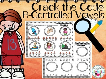 R-Controlled Vowels Worksheets Crack the Code