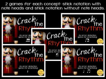 Crack the Rhythm: 10 interactive rhythmic error detection games