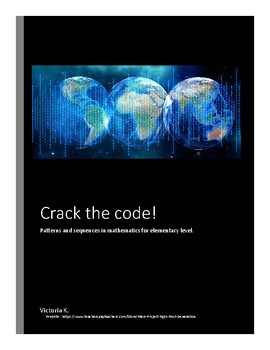 Crack the code! Patterns in mathematics