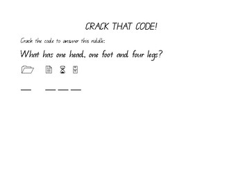 Crack the code - Riddle 1