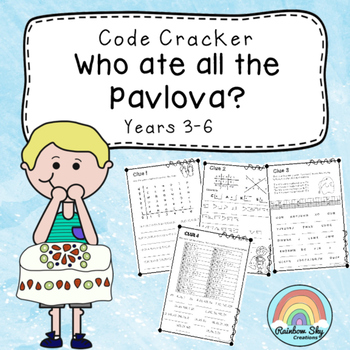 Crack the code - Who ate all the Pavlova?