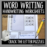 Crack the letter puzzles