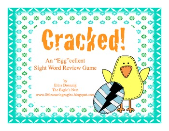 "Cracked-An ""Egg""cellent Sight Word Review Game"