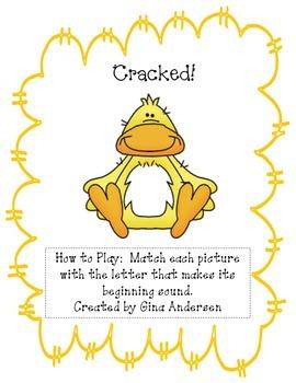 Cracked!-Beginning Sounds