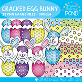 Cracked Egg Easter Bunny