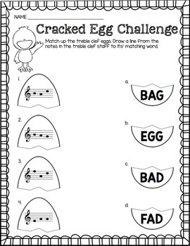 Cracked Egg Challenge: Treble Clef 4-Game Bundle