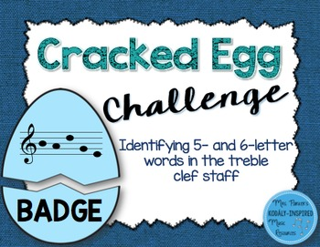 Cracked Egg Challenge: Identifying 5- and 6-Letter Words U