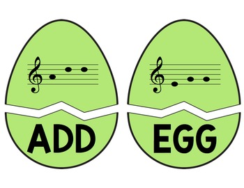 Cracked Egg Challenge: Identifying Three-Letter Words in the Treble Clef Staff