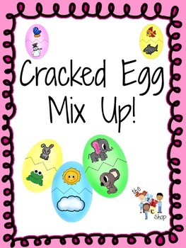 Cracked Egg Mix Up! - Compare-Contrast Activities