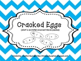 Cracked Eggs {short e and initial consonant blends puzzles}