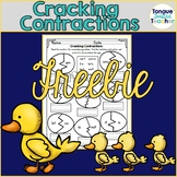 Cracking Contractions - Practice Page- Freebie