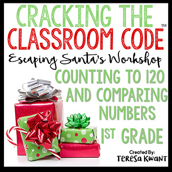Cracking the Classroom Code™ 1st Grade Christmas Math Escape Room