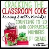 Cracking the Classroom Code™ 1st Grade Christmas Math Escape Room