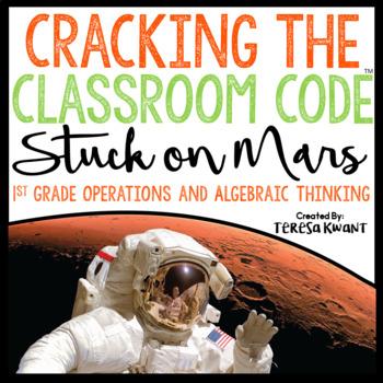 Cracking the Classroom Code™ 1st Grade Math Escape Room Game