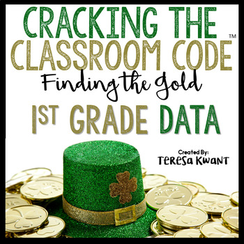 Cracking the Classroom Code™ 1st Grade St. Patrick's Day Math Escape Room Game