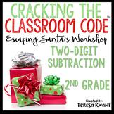Cracking the Classroom Code™ 2nd Grade Christmas Math Escape Room