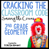 Cracking the Classroom Code™ 2nd Grade Geometry Escape Room