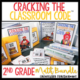 Cracking the Classroom Code™ 2nd Grade Math Bundle Escape Room Games
