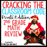 Cracking the Classroom Code™ 2nd Grade Math Review Escape Room