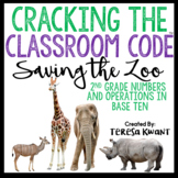 Cracking the Classroom Code™ 2nd Grade Operations in Base Ten Escape Room