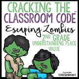 Cracking the Classroom Code™ 2nd Grade Place Value Halloween Math Escape Room