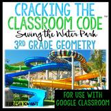 Cracking the Classroom Code™ 3rd Grade Math Escape Room Geometry