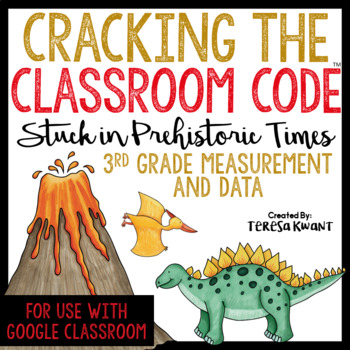 Cracking the Classroom Code™ 3rd Grade Measurement and Data Escape Room