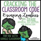 Cracking the Classroom Code™ 3rd Grade Halloween Math Escape Room