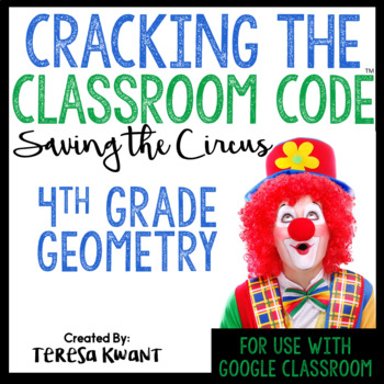 Cracking the Classroom Code™ 4th Grade Geometry Escape Room