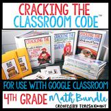 Cracking the Classroom Code™ 4th Grade Math Bundle Escape Games