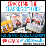 4th Grade Math Bundle Escape Games | Distance Learning and