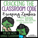 Cracking the Classroom Code™ 4th Grade Halloween Math Escape Game