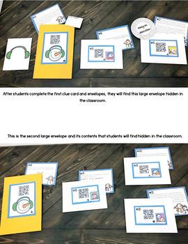 Cracking the Classroom Code™ 4th Grade Snowmen Factors, and Multiples Escape