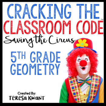 Cracking the Classroom Code 5th Grade Geometry Escape Room